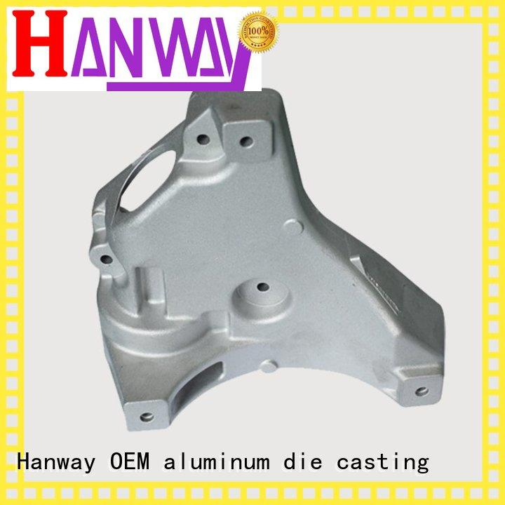 precision automobile cast aluminum furniture manufacturers foundry Hanway Brand company