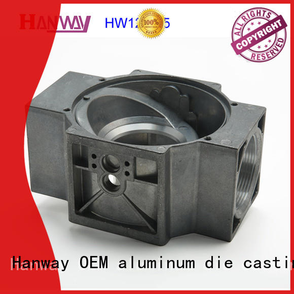 Hanway 100% quality valve body & flange part for industry