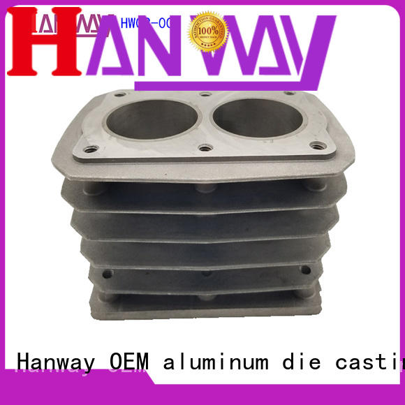 forged zinc alloy die casting parts supplier for manufacturer Hanway