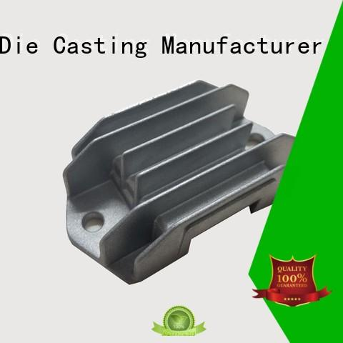 custom heatsink cnc heatsink aluminum die casting supplier Hanway Brand