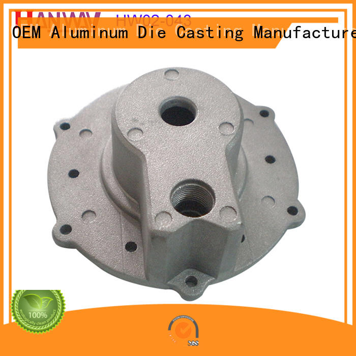 polished Industrial parts and components diecasting directly sale for plant