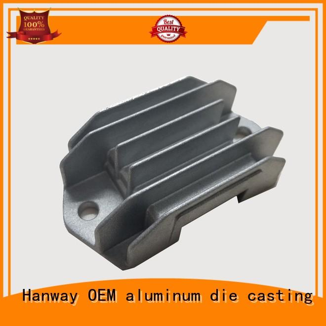 custom heatsink scooter aluminum die casting supplier foundry company