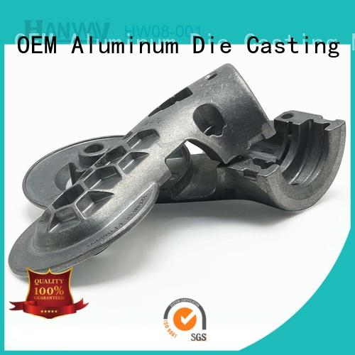 Hanway aluminum foundry medical device parts wholesale for merchant