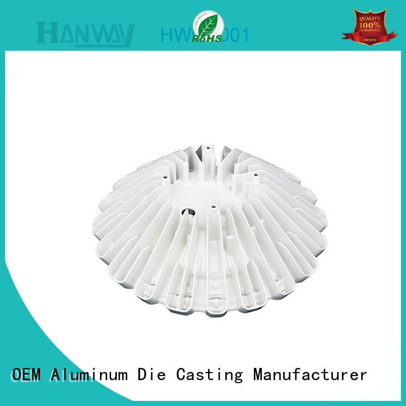 mechanical aluminium casting parts extrusion customized for industry