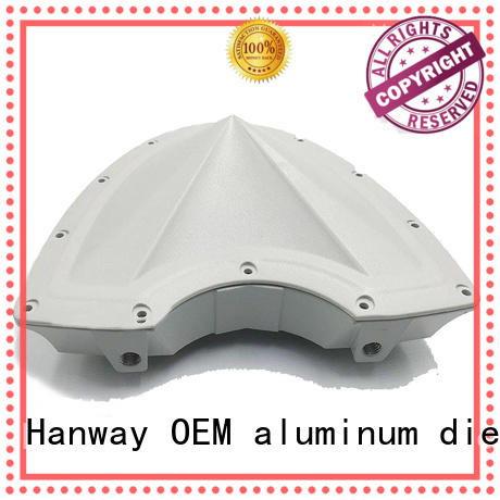 Hanway die casting telecom parts suppliers design for antenna system