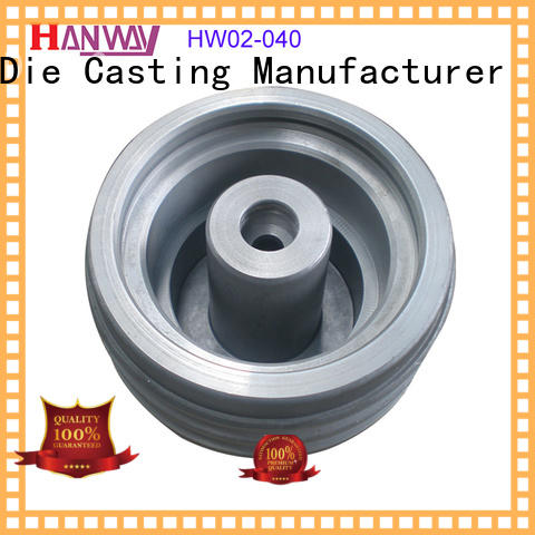 Hanway forged Industrial parts and components from China for workshop