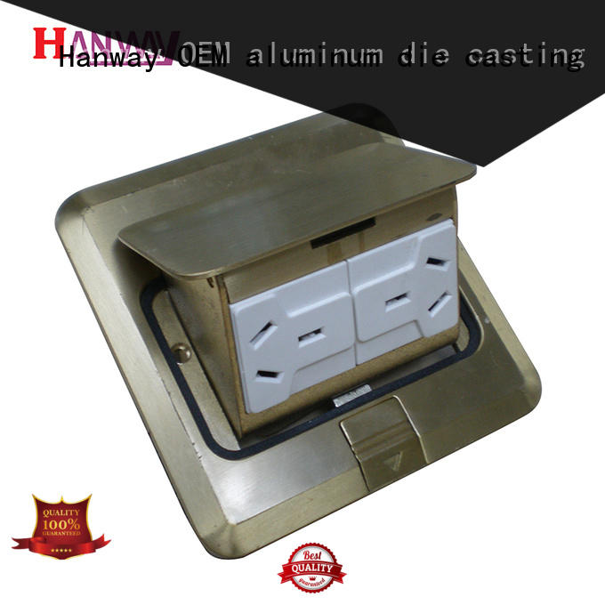 Hanway 100% quality aluminum die casting factory with good price for plant