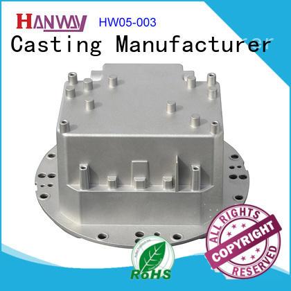 train die-casting aluminium of lighting parts part for lamp Hanway