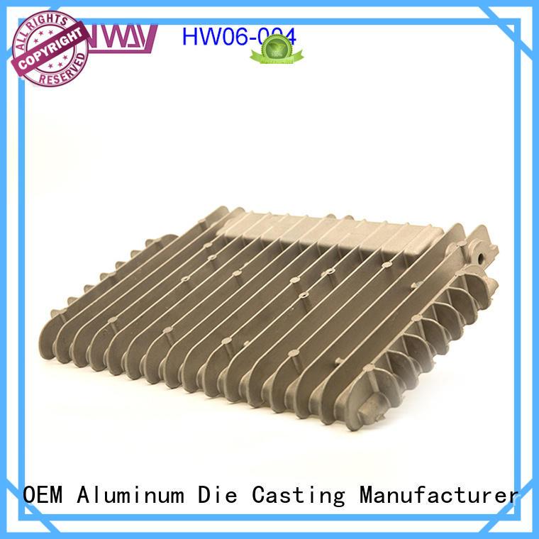 Hanway mechanical led heatsink factory price for industry