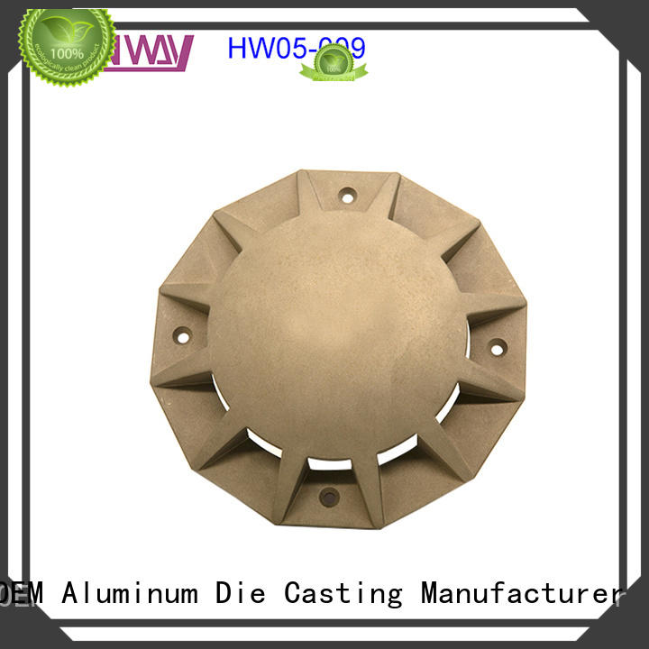 Hanway parts aluminium pressure die casting process supplier for mining
