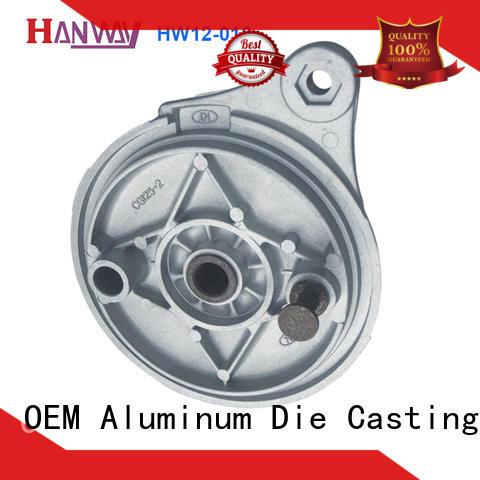 Hanway precise valve body & flange part for manufacturer