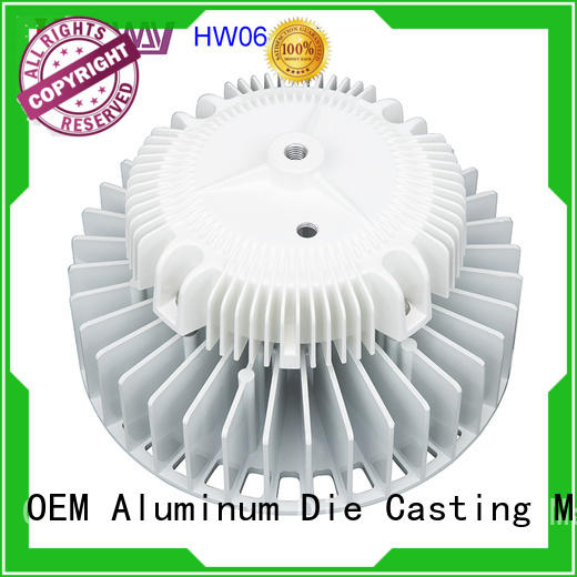 Hanway precise led heatsink customized for plant