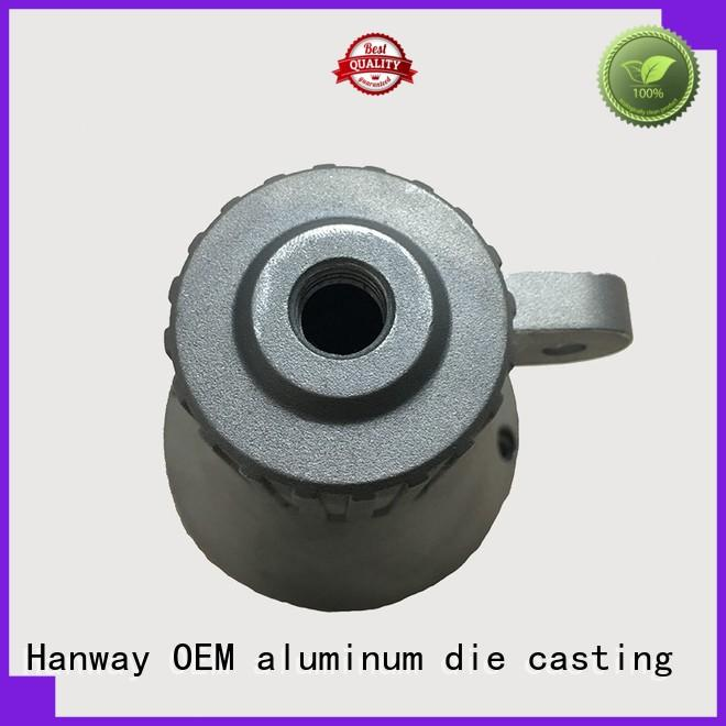 Hanway white large heat sink customized for manufacturer
