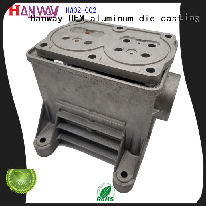 polished aluminium casting manufacturers hw02029 from China for plant