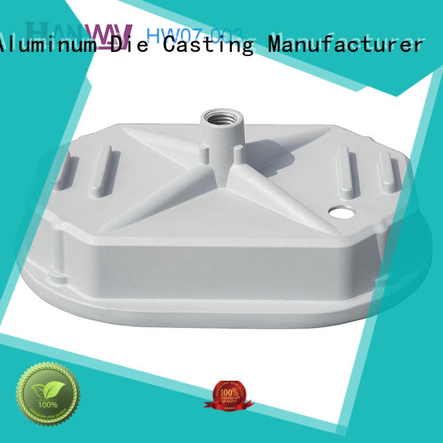 Hanway CNC machining pressure die casting manufacturers with good price for industry