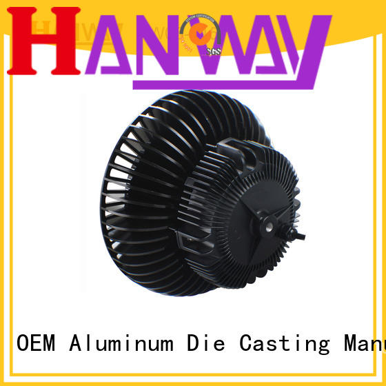 Hanway die casting aluminum heat sink suppliers factory price for plant