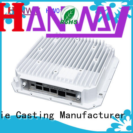 Hanway white wireless telecommunications parts factory for manufacturer