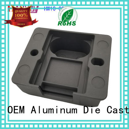 Hanway mounted aluminum die casting companies part for workshop
