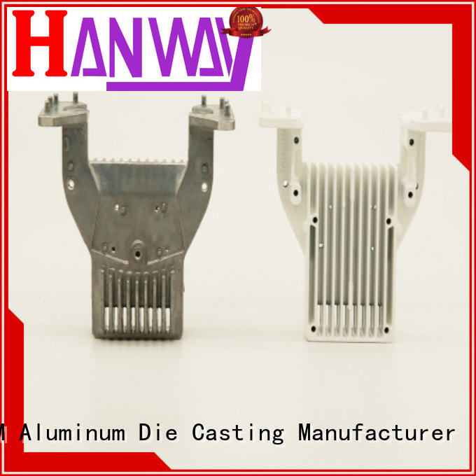 Hanway Brand aluminum rectifier cooler heatsink aluminum die casting supplier