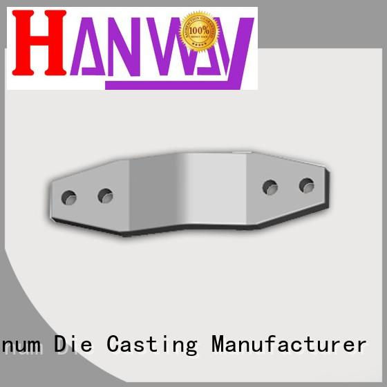 connector white antenna OEM aluminum die casting company Hanway