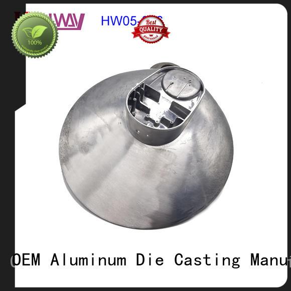 High quality precision pressure aluminum die casting led housing HW05--006