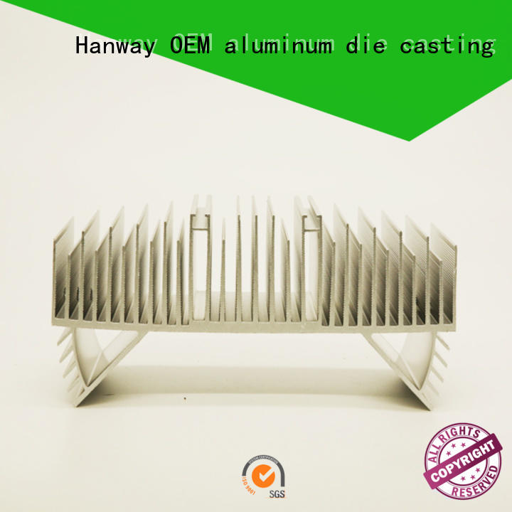 Hanway automatic led bulb heat sink supplier for plant