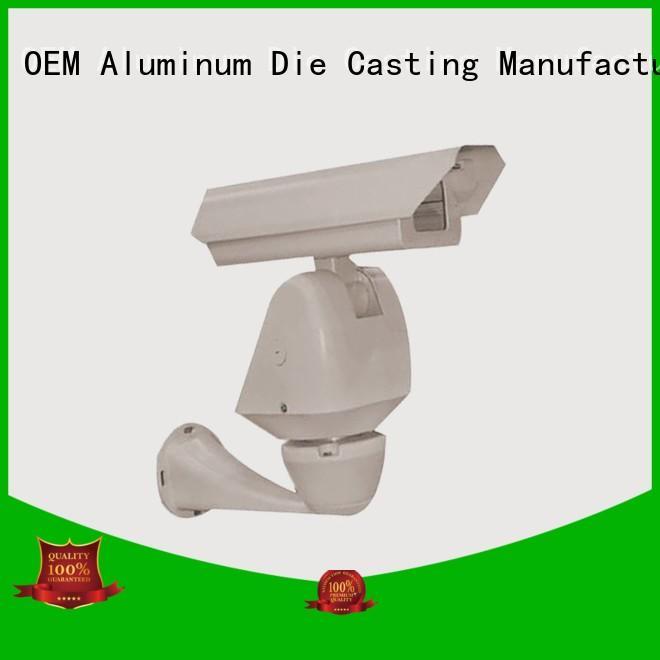 cctv camera accessories die casting waterproof foundry aluminum die cast cctv camera housing die Hanway Brand