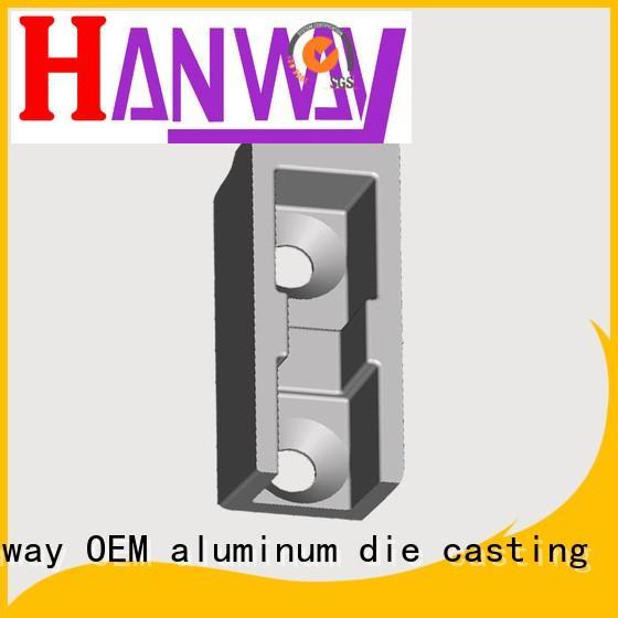 Hanway Brand aluminum chinese parts aluminium pressure die casting process manufacture