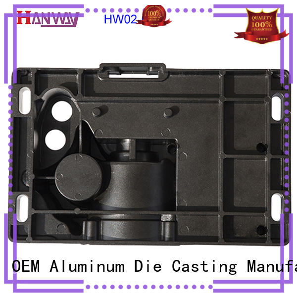 Hanway polished metal casting parts wholesale for industry