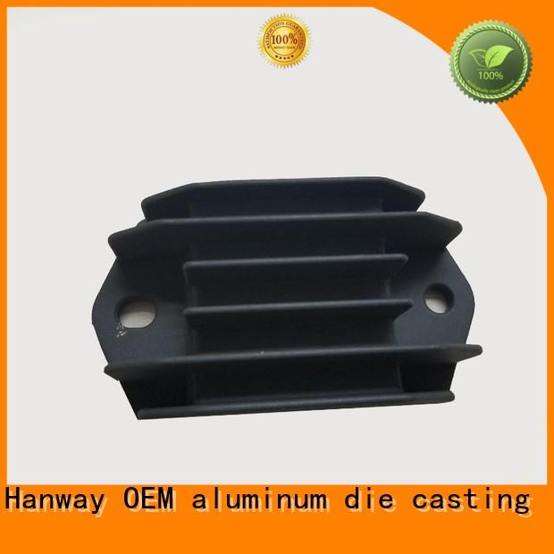 cooler aluminum die casting supplier aluminum Hanway company