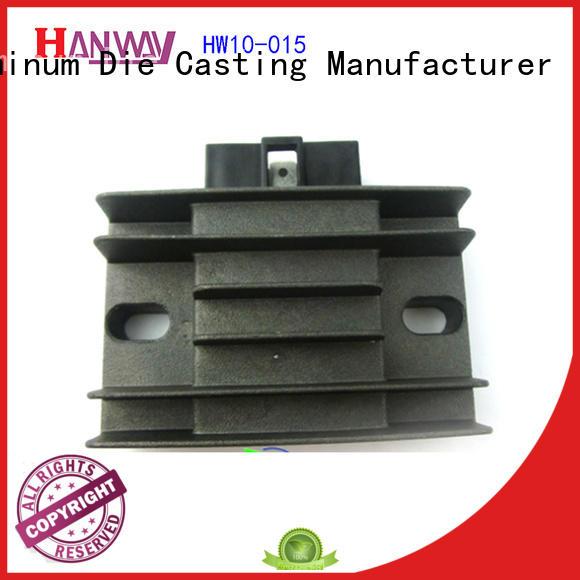 Hanway die casting motorcycle accessories factory price for workshop