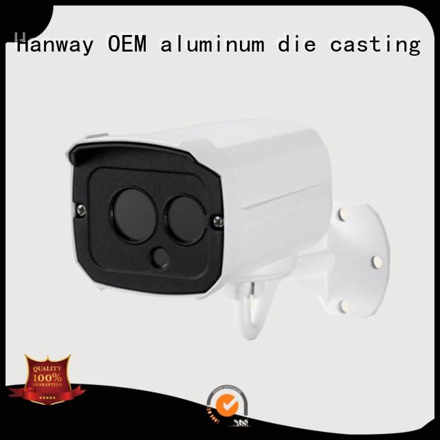 Hot cctv camera accessories die casting cnc Hanway Brand
