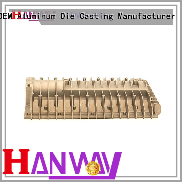 Hanway automatic die cast aluminum manufacturers customized for plant