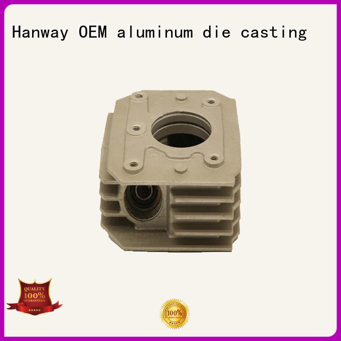 Hanway Brand die casting custom auto parts aluminum