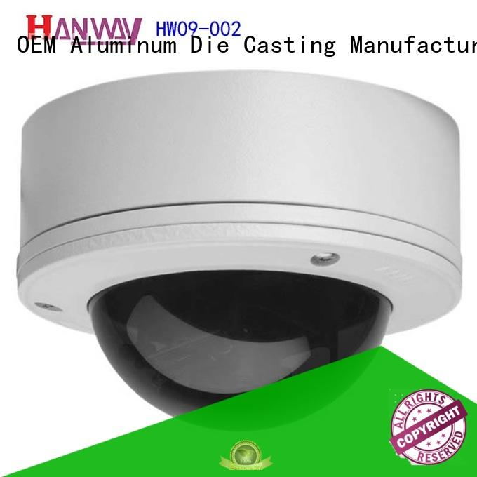 Hanway die casting security system accessories part for light