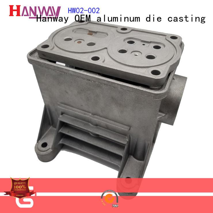Hanway polished aluminium pressure casting wholesale for manufacturer