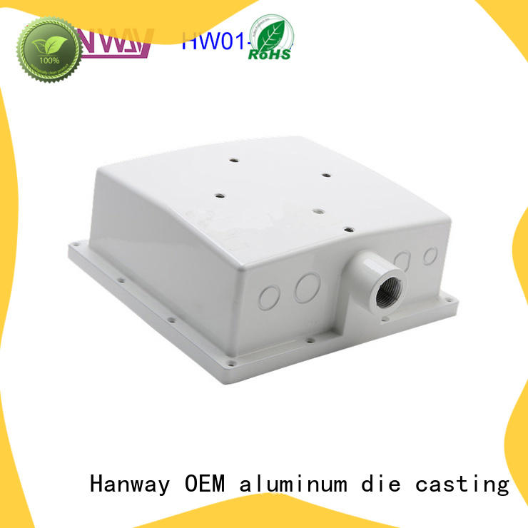 Hanway hw01007 aluminium heat sink design for industry
