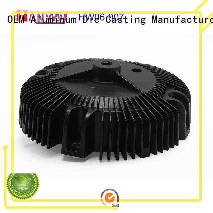 mechanical led heatsink white part for manufacturer