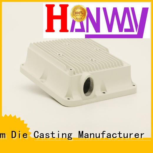 antenna part aluminum die casting company powder aluminum Hanway company