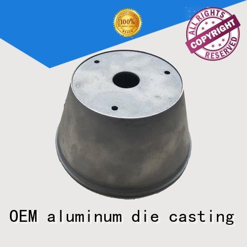 CNC machining security accessories aluminum customized for mining