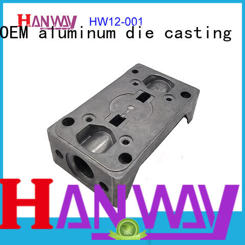 Hanway precise valve body & flange factory price for workshop