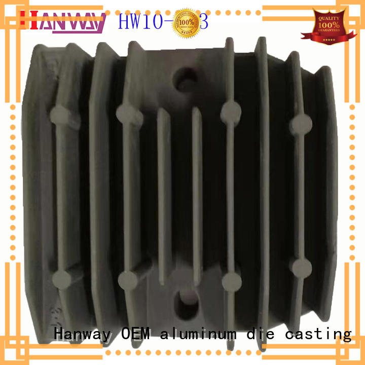 Hanway foundry automotive & motorcycle parts customized for manufacturer