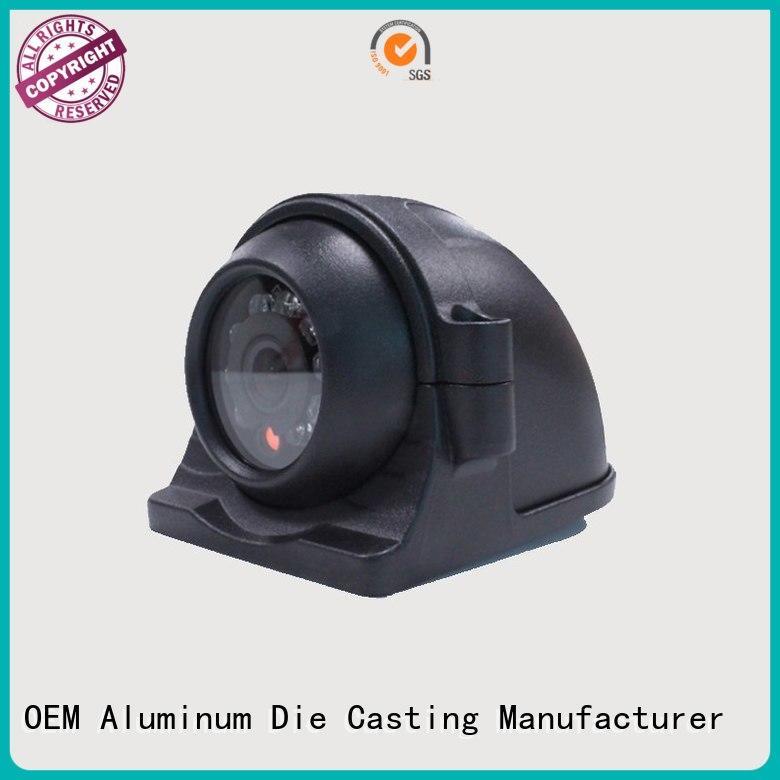 cctv camera accessories die casting white aluminum die cast cctv camera housing Hanway Brand