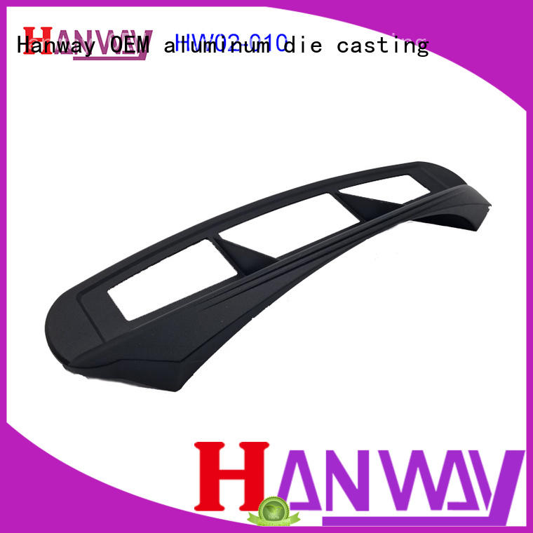 diecast Industrial parts and components from China for industry Hanway