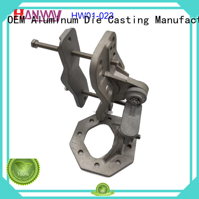 die casting wireless telecommunications parts hw01025 personalized for workshop