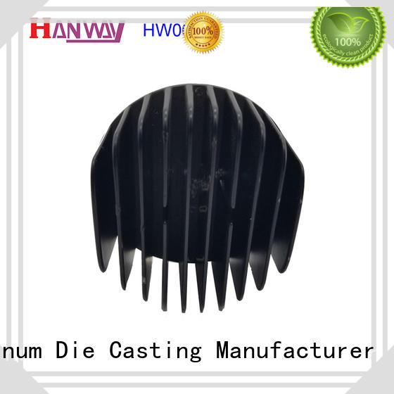 Hanway cast led headlight heat sink part for industry