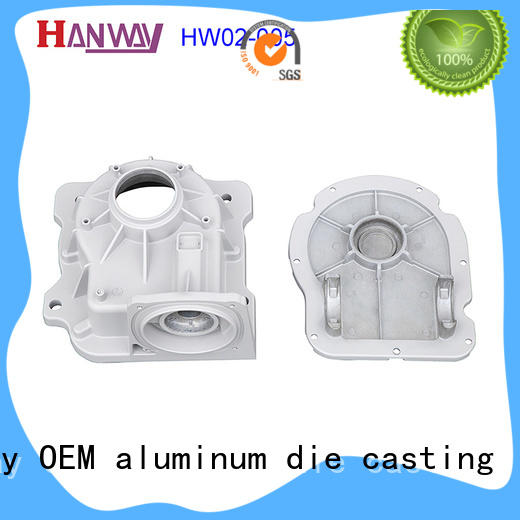 Hanway polished Industrial parts and components supplier for workshop