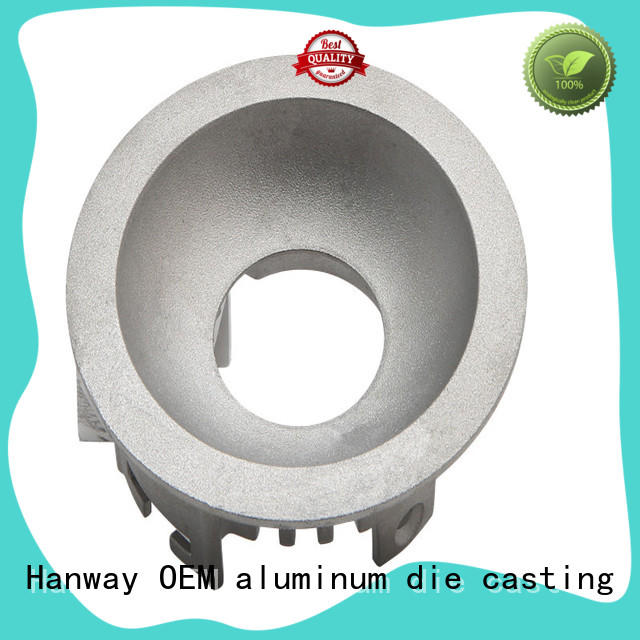 Hanway foundry die-casting aluminium of lighting parts part for outdoor