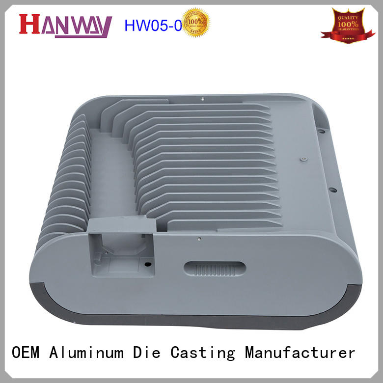 Hanway pressure aluminium pressure die casting process kit for light
