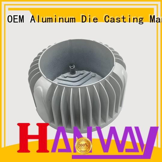 Hanway Brand casting aluminum channel industrial supplier
